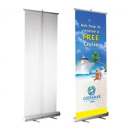 Banner Roll-Up Lona Fosco 280g  80x200cm